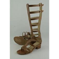 Sandalias y chanclas de mujer de tacón medio (2,5-7,5 cm) de color principal marrón talla 36