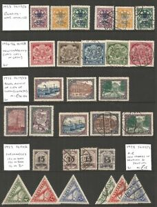 Latvia, mint and used selection ,lot 9