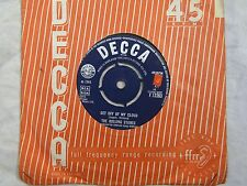 ROLLING STONES GET OFF OF MY CLOUD / THE SINGER NOT THE SONG decca 12263