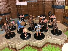 Dungeons And Dragons Miniatures Commoners Towns Folk Tavern Brawler Farmer Gaurd
