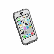 LifeProof Nuud Series Case for iPhone 5c (Only) - Retail Packaging - White/Clear