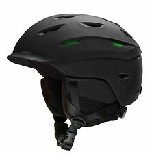 Smith Mens Level Ski Snow Helmet Matte Black