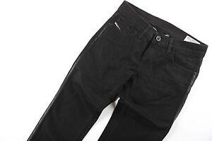 Neu Diesel Jeans Damenjeans LIV Schwarz Black WASH 008IE_Stretch W 26 27 L 30 32