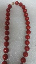 """South Sea Shell Pearl  Red Approx 14 MM  18"""" Necklace Beautiful"""