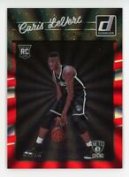 2016-17 Donruss CARIS LEVERT Rare HOLO LASER-RED ROOKIE CARD RC #/99 Nets #167