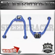 EMUSA FRONT ADJUSTABLE UPPER CAMBER KIT FOR 350Z G35 BLUE