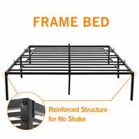 Metal Queen Full Twin Size Bed Frame Heavy Duty Mattress Platform Folding Base