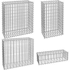 Gabion Pierre Panier Mur de soutènement jardin cage métallique française en acier galvanisé NEUF