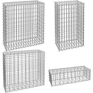 Gabion Stone Basket Retaining Wall Garden wire cage fench galvanized steel new