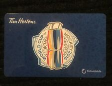 TIM HORTONS WORLD CUP OF HOCKEY 2016 GIFT/TIM CARD NEW