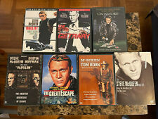SEVEN Steve McQueen DVD Movie Collection (See listing for Details)