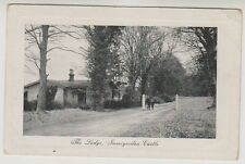 Ross & Cromarty postcard - The Lodge, Invergordon Castle