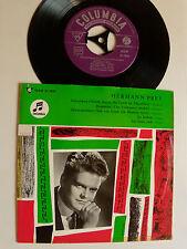 "HERMANN PREY, bariton : SCHUBERT & GRIEG, lieder - 7"" EP COLUMBIA SEGW 21 7826"