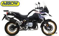 TERMINALE DI SCARICO ARROW MAXI RACE-TECH DARK BMW F 850 GS 18 > 20 OMOLOGATO