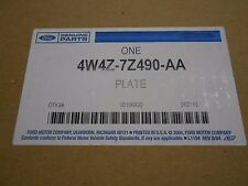 FACTORY NEW VALVE BODY SEPERATOR PLATE W/BONDED GASKETS FITS 5R55S AUTO TRANS