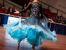 U4173 Competition Women Ballroom tango waltz standard dance dress Custom made