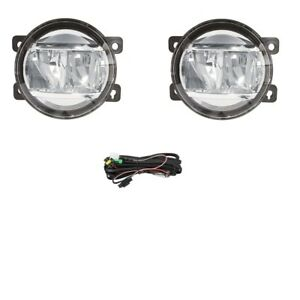 LED Fog Light Kit for Mitsubishi Pajero NS NT NW 2006-2012 W/Wiring&Switch