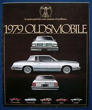 PROSPEKT BROCHURE 1979 Oldsmobile Cutlass * * OMEGA * Starfire (USA)