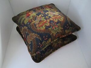 Beautiful floral cotton colorful fabric-pillow set of two