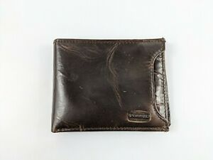 Fossil Brown Leather Bifold Wallet