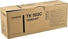Genuine Kyocera TK-502C Cyan Toner Kit Ecosys Printer C5000