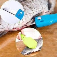 Fischschuppen Haut Entferner Messer Scaler Schnelle Reiniger Kitchen Clean Tools