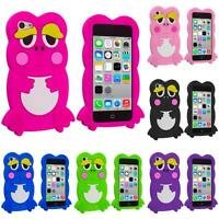 For Apple iPhone 5C Cute Frog Case Silicone Rubber Soft Skin Gel Cover Accessory
