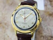 Helvetia Rare 1960s Mens Manual Swiss Made Vintage Gold Plated Watch Q26