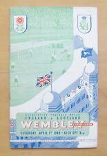 More details for england v scotland 1949 *excellent condition football programme*