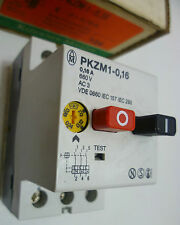 Klockner Moeller PKZM1-0,16  Manual Motor Starter 0.1A -0.16A PKZM-1-0,16