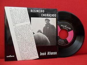 1970 JOSÉ AFONSO Resineiro Engraçado 7/45 PORTUGAL Protest Folk NMINT Orfeu HEAR