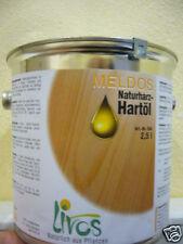 Livos Meldos Naturharz Hartöl 2,5 L Leinöl GP1L=22,00€