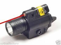 Tactical FlashLight & Laser Sight Combo XP6-E 200 LUMEN FOR Glock 17 19 22 23 20
