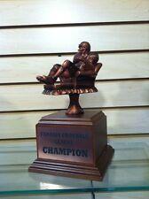 "Fantasy Football ""Armchair Quarterback"" Trophy - Free Engraving, Free Shipping"