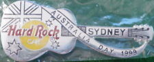 Hard Rock Cafe SYDNEY 1999 National AUSTRALIA DAY GUITAR PIN - HRC Catalog #9533