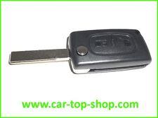 Klapp-Schlüssel 2-Tasten Peugeot 107 208 207 308 307 308 407 806 Gehäuse clé key