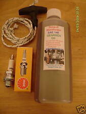Oil for British Seagull Outboard Engine Spark Plug & Pull Cord