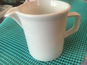 PITCHER /CREAMER WHITE JOHNSON BROTHERS MADE IN ENGLAND  3-1/2INCHES BY 5 INCHES