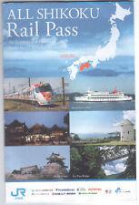 Japan JR Shikoku Rail Pass Used