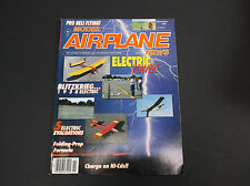 VINTAGE MODEL AIRPLANE NEWS NOVEMBER 1989   R/C PLANES  ELECTRIC POWER  *G-COND*