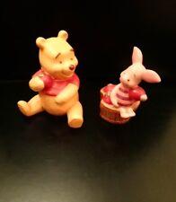 Walt Disney Winnie the Pooh and Piglet Ceramic Salt and Pepper Shaker Set