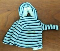 Vintage Authentic 1957 Vogue Ideal JILL Ginny Doll Barbie Hoodie Jacket Stripe