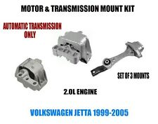 Fits:VW Jetta  99 00 01 02 03 04 05 Engine Motor Mount Set   AUTO TRANS