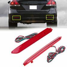24 LEDs Car Auto Rear Bumper Fog Light Red For Toyota Venza 2012-2015 16 17