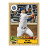 Pete Alonso THROWBACK Thursday Set #27 - 1987 Topps Future Stars METS