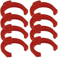 8 clips de verrouillage pour raccord rapide sortie tube Ø 6,35cm- Locking clip