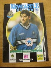 29/10/1996 Newcastle United v Ferencvaros [UEFA Cup] (creased). Footy Progs/Bobf