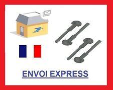 4 llaves de extracción de desmontaje autorradio CITROEN FIAT HONDA PEUGEOT VOLVO