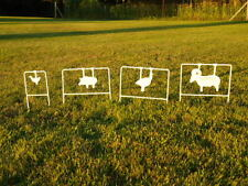 1/5th Scale NRA Swinging Silhouette Targets