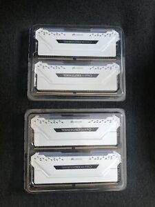 Corsair Vengeance Pro RGB White 32GB 3600Mhz (4x8gb)